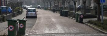 Aandacht voor de maximumsnelheid in de wijk